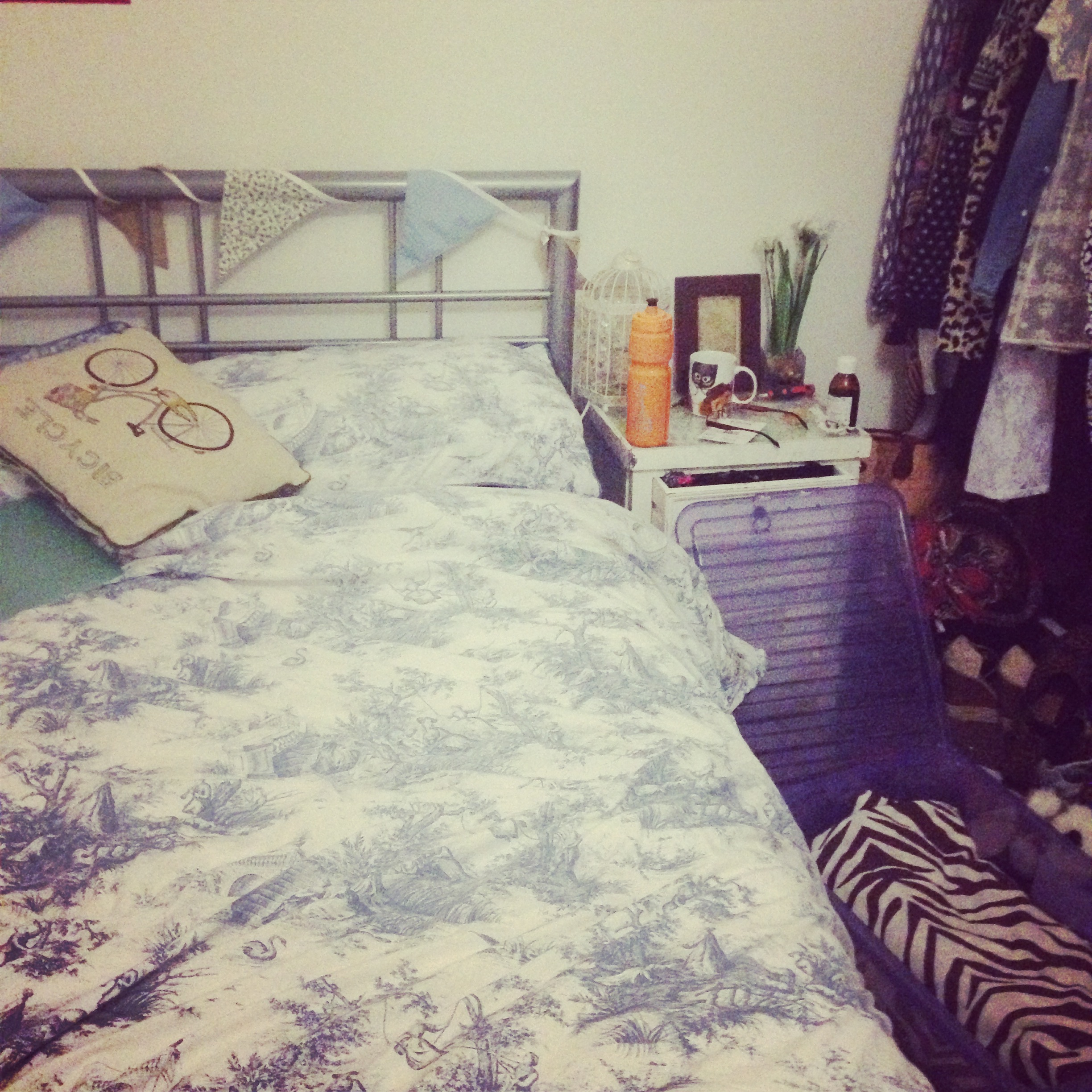 A clean bedroom is a happy bedroom