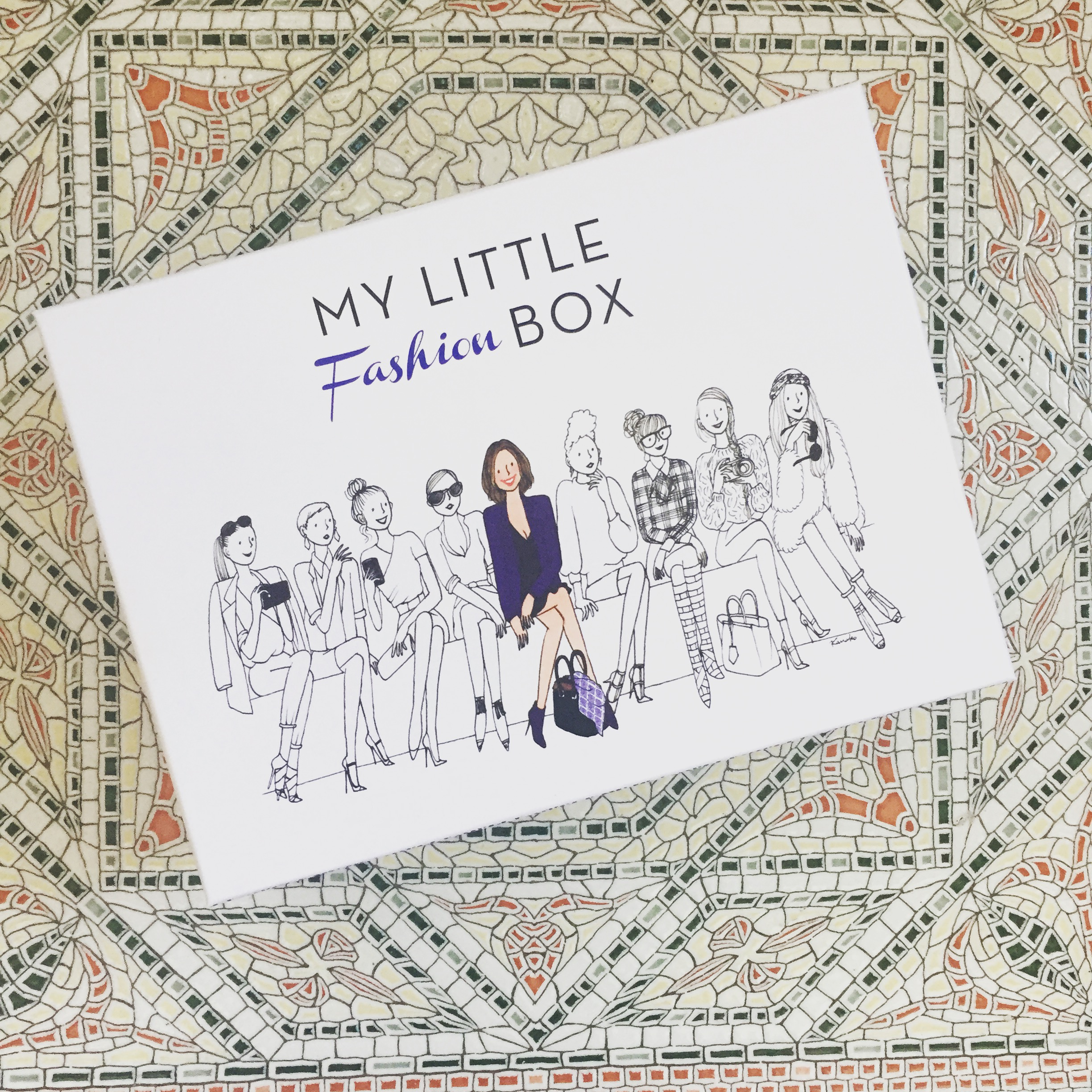 Latest subscription of my little box- September