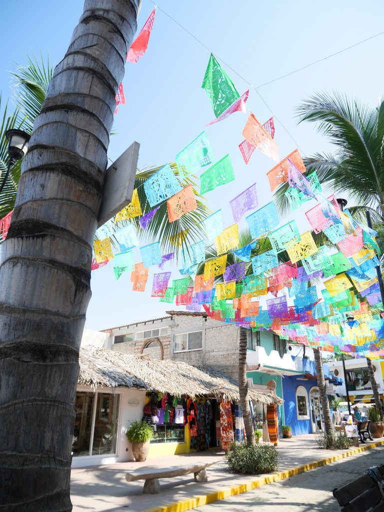 The Bohemian town of Sayulita, Mexico
