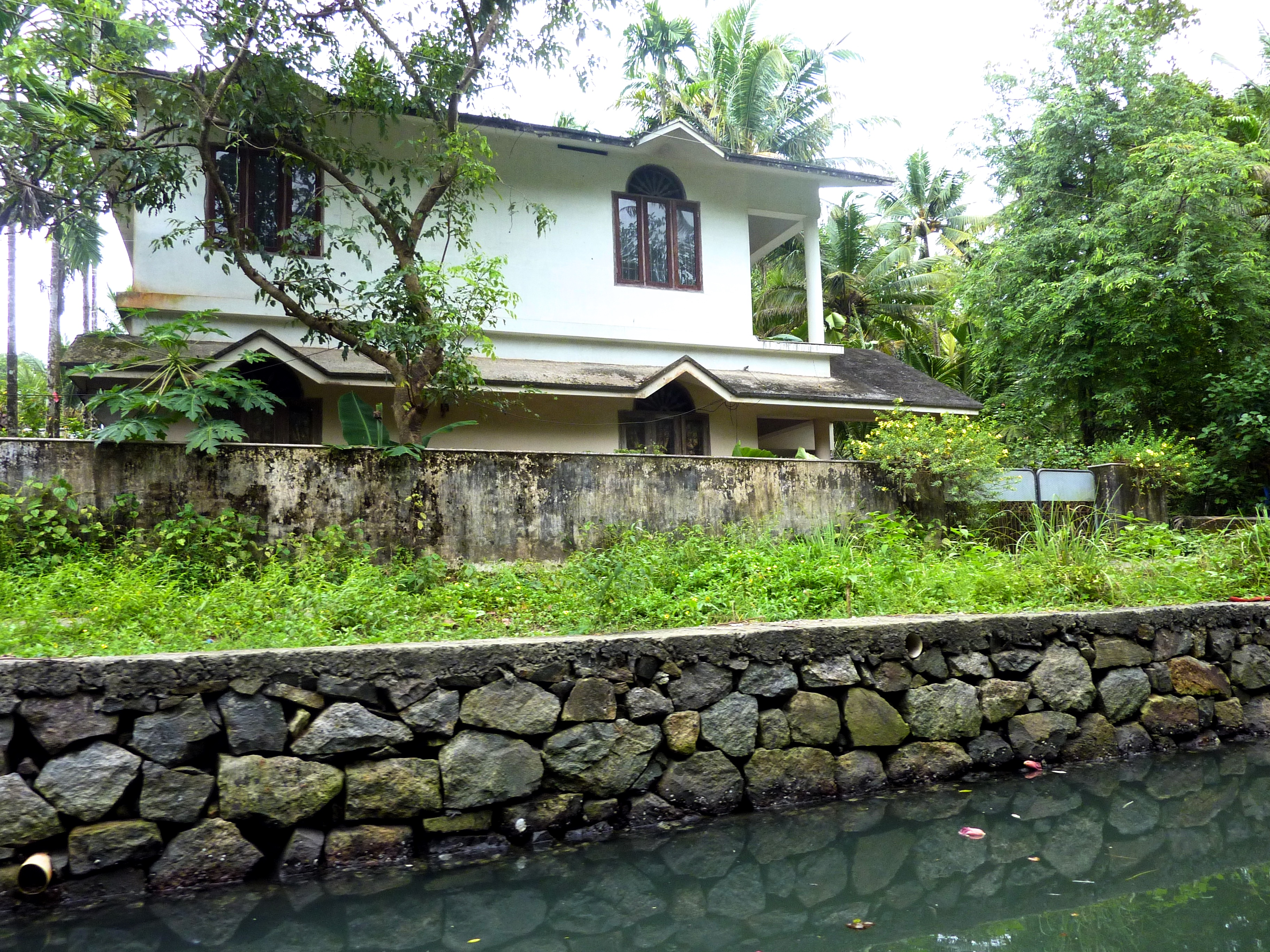 house on the backwaters