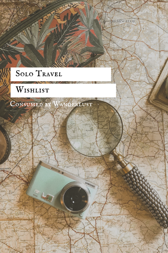 what to buy when solo travelling